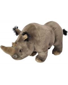 12'' Plush White Rhino