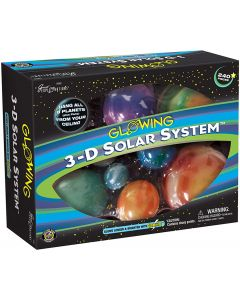3-D Glow in the Dark Solar System- Box
