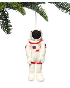 Wool NASA Astronaut Ornament- Front