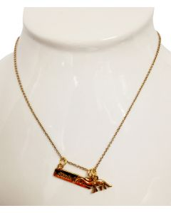 Dino Love Charm Necklace