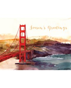 Golden Gate Holiday Greeting Cards