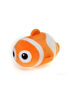 Lil' Huggy Plush Clown Fish Front View