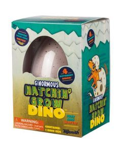 Ginormous Hatchin' Grow Dino Egg
