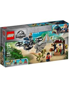 Lego Jurassic World Dilophosaurus on the Loose- Front