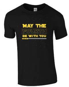 Adult May the Fourth Be With You Tee
