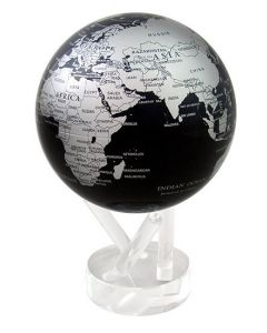 MOVA Globe: Earth (Silver & Black)