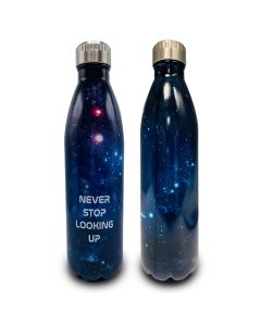 Never Stop Looking Up Water Bottle