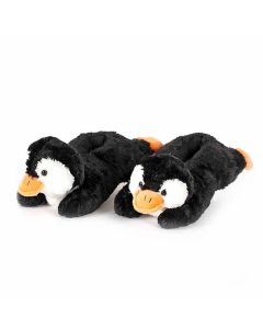 Penguin Fuzzy Slippers