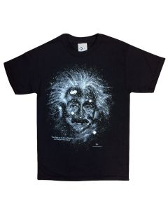 Adult Einstein Glow-in-the-Dark T-Shirt
