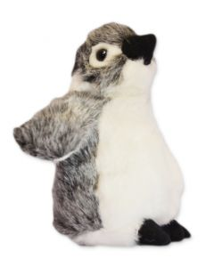 Plush Black Footed Baby Penguin