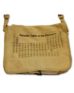 Periodic Tableof Elements Messenger Bag