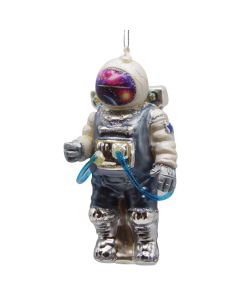 Glass Astronaut Ornament