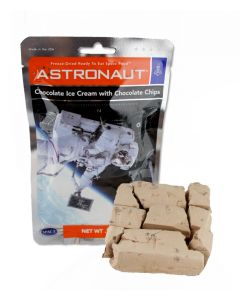 Astronaut Chocolate Chocolate Chip Ice Cream