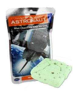 Astronaut Mint Chocolate Chip Ice Cream