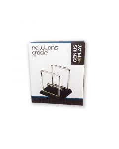 Chrome Newton's Cradle by Genius @ Play