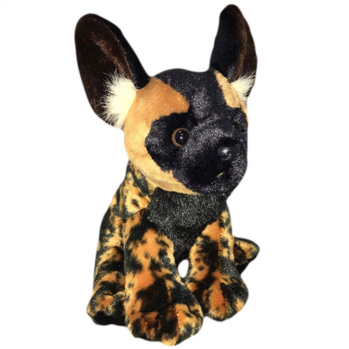 Plush African Wild Dog Cal Academy Store