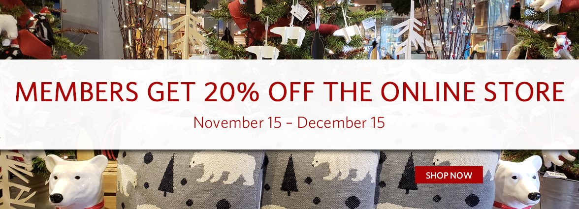 Member Holiday Sale 20% Off